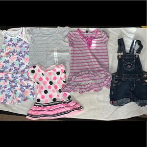 NWT tank set with 3t variety,tops/dress/overalls